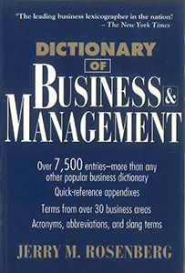 Dictionary of Business & Management