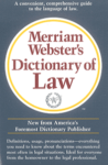Merriam Webster's Dictionary of Law